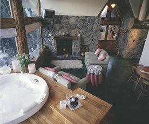 cabin luxury cabaña