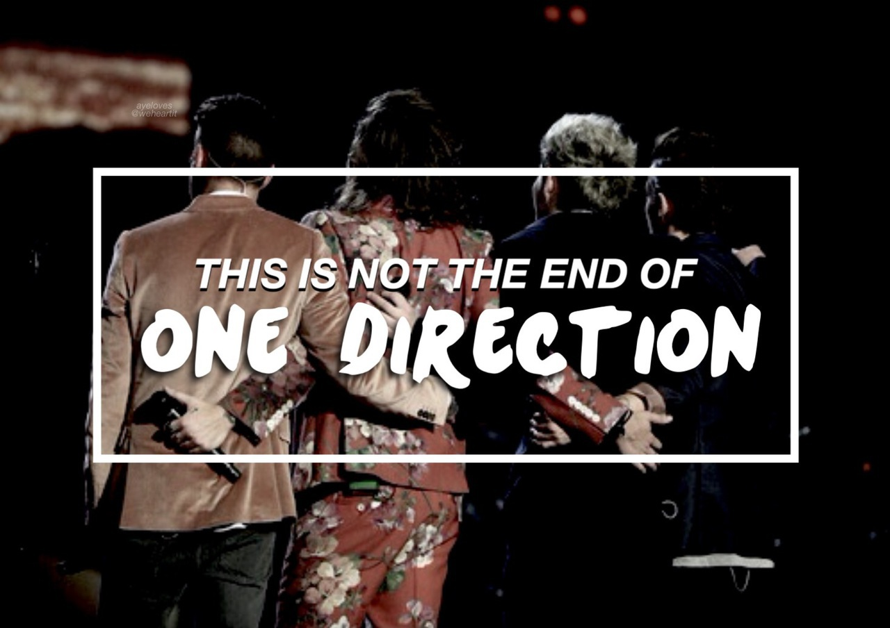 Znalezione obrazy dla zapytania this is not the end 1d
