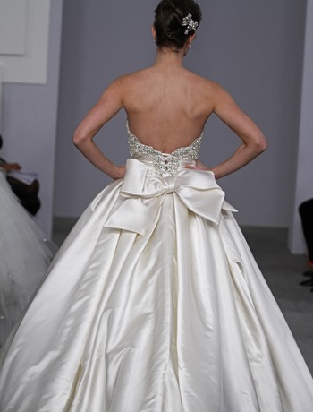 Bridal Gowns Pnina Tornai Princess Ball Gown Wedding Dress with Strapless