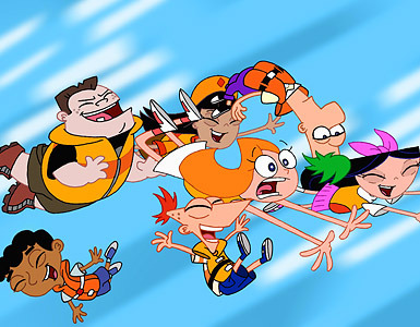 Phineas and FerbCandace naked pics.