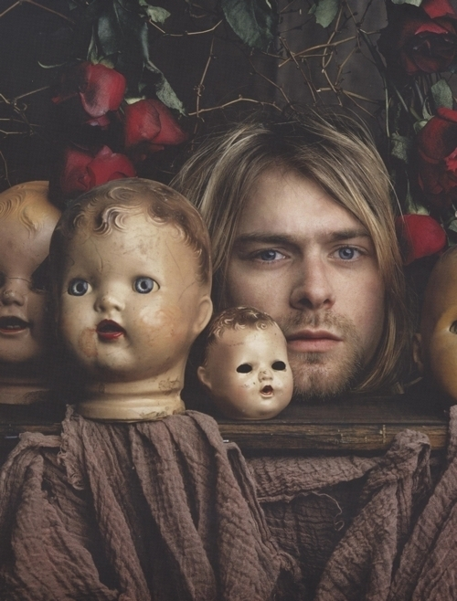 baby, band, beautiful, blonde, cobain - inspiring picture on Favim.com