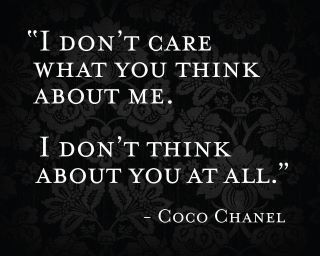 chanel, coco, quote - inspiring picture on Favim.com