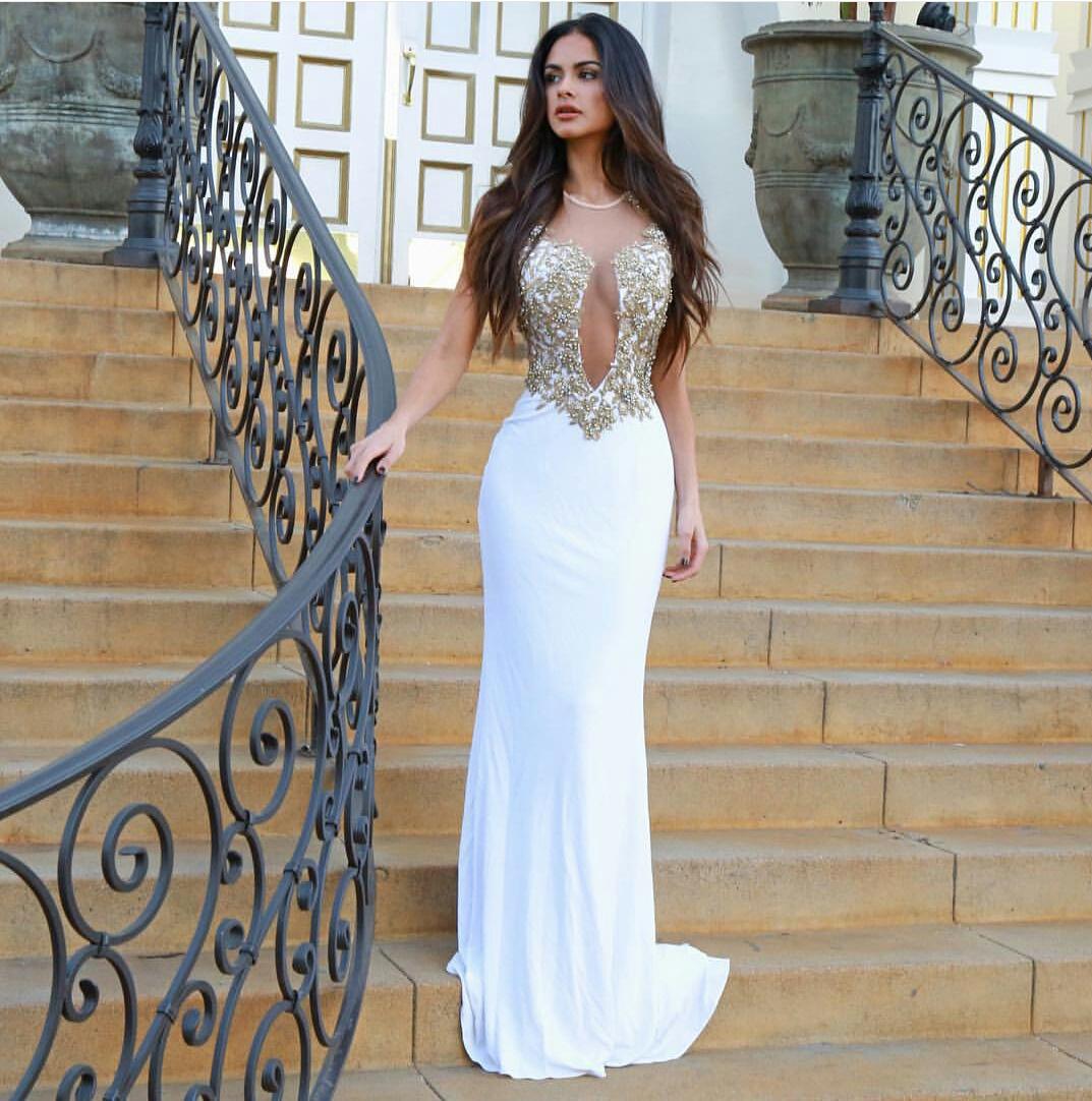 Prom dress by Nina  WHI