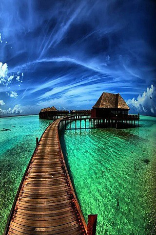 Beautiful Places / bora bora, tahiti