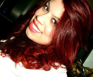 girl hair red