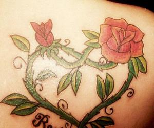 mom tattoo rose