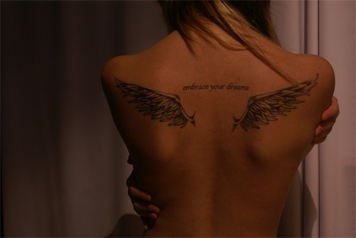 back bak tattoo tatoo tattoo text inspiring picture on Favimcom tatoo text