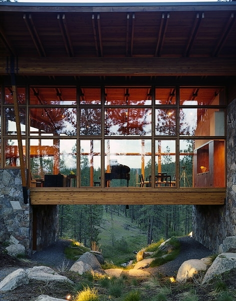 in my mind, there is only eternal beauty. - villere: Ridge House by Olson Kundig