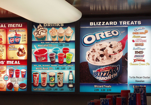 Serving DQ Soft Serve Treats and Shakes, The Best BLIZZARD Menu Ever! New Hot Treats! Orange Julius Smoothies! Sandwiches, Snack Melts and DQ Hot Dogs.