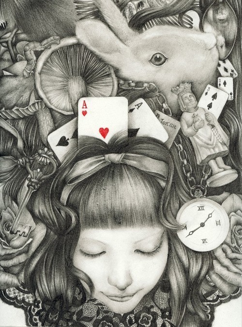 alice, alice in wonderland, rabbit - inspiring picture on Favim.com