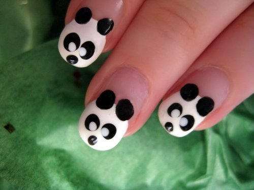 Google Image Result for http://www.funkyfashiontrend.com/wp-content/uploads/2011/04/panda-nail-art-design04.jpg