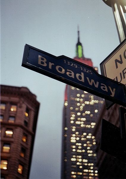 -Just be spLendid-, Broadway