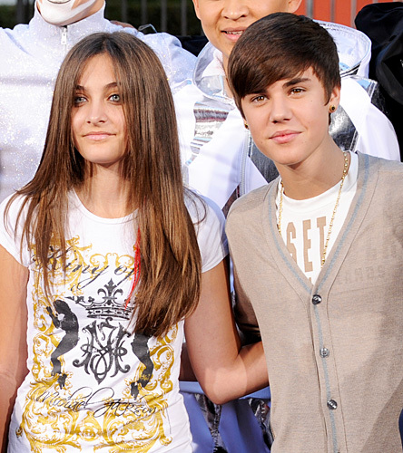 Paris Jackson And Justin Bieber Color Coordinate | We Heart It