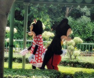 minnie&mickey mouse