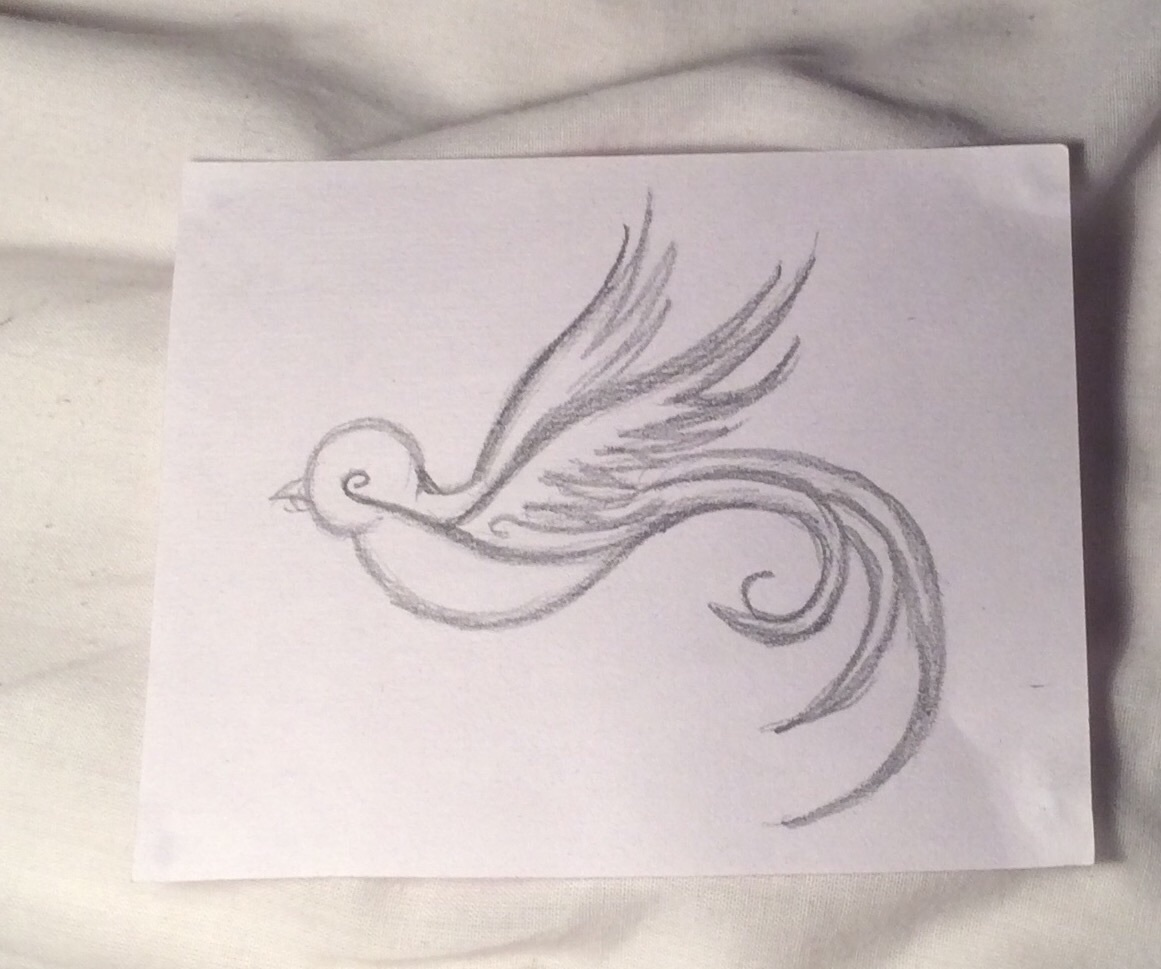 Tattoo Ideas Easy To Draw: Small And Cute, Could Be Used As A Tattoo As The Detail Is