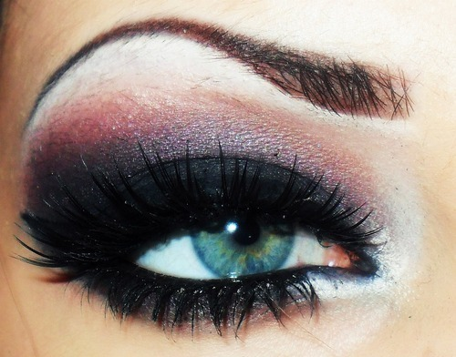 eye, eyebrow, makeup - inspiring picture on Favim.com