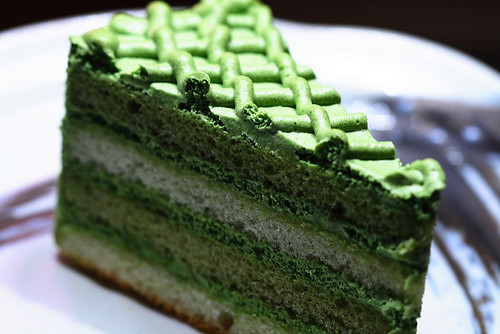 Green tea cake | Flickr - Photo Sharing!