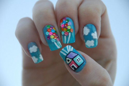 Ballons-cute-house-nails-unhas-favim.com-55732_large