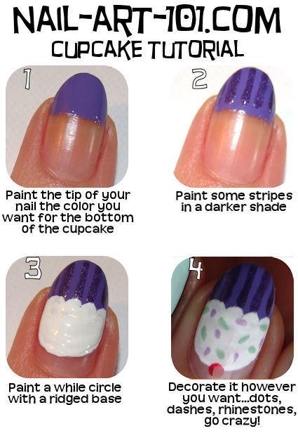 Nail Art 101 Com Tutorial Kitharingtonweb