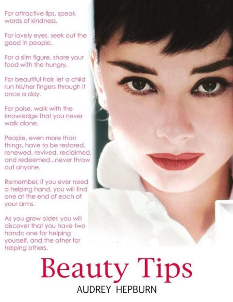 Audrey Hepburn's Beauty Tips