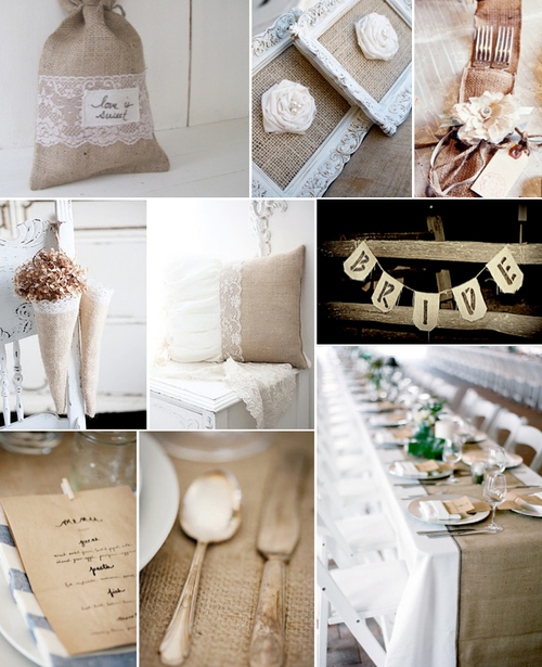 Burlap And Lace Wedding Ideas Wedding Ideas Wedding Trends