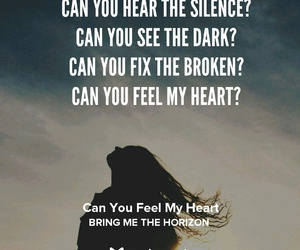 can't you feel my heart