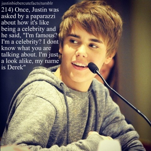 Info  Justin Bieber on Justin Bieber Cute Facts On We Heart It   Visual Bookmark  22415796