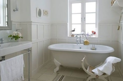 French Country Master Bathroom Suite Traditional Bathroom Boston – French Country Bathrooms