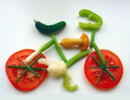 Veg. bycycle - photophin.com