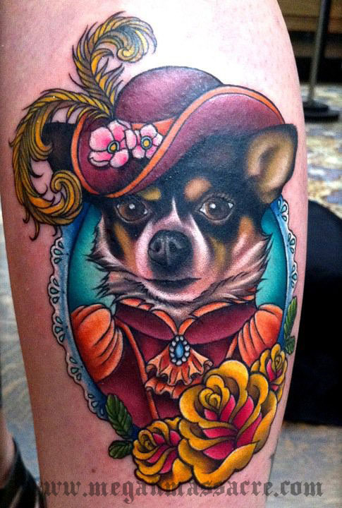 taylor dog tattoo copy large Tattoos | | Megan MassacreMegan Massacre