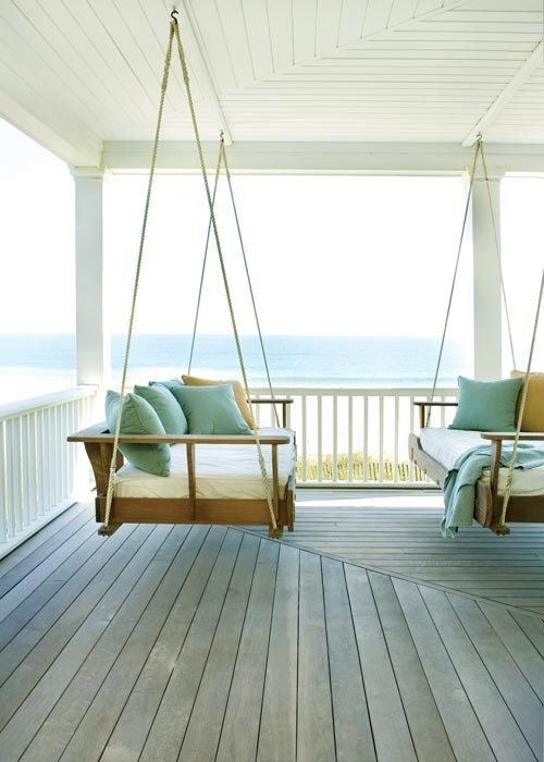 home lovin' / double porch swings