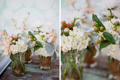 Mint Peach Orange Rustic Texas Ranch Wedding Bridal Musings A Chic