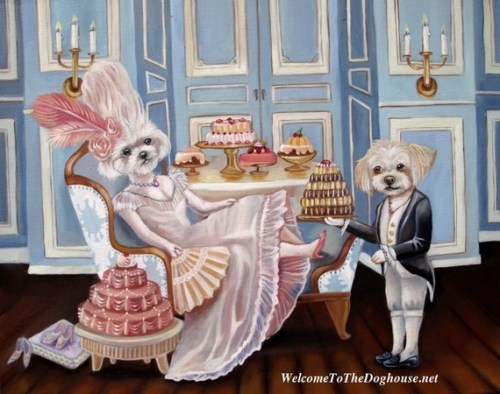 Marie Antoinette inspired fripperies « Madame Guillotine