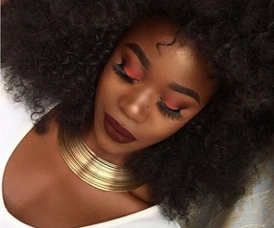 black girl make up