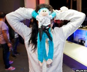 monkey skrillex