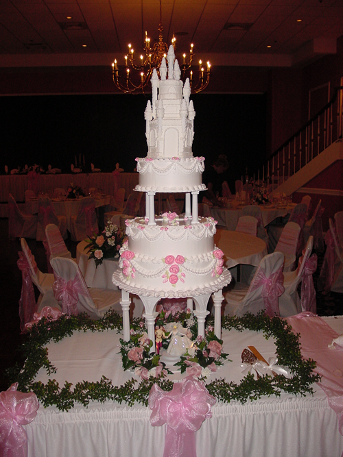 Disney Cinderella Fairy Tale Wedding Cakes DisneyFairyTalescom
