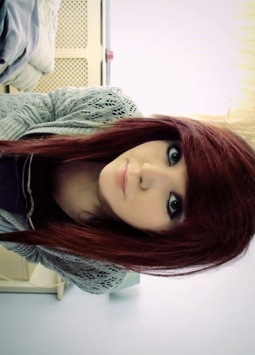 Photo coupe de cheveux emo