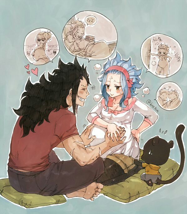 gajeel x levy family - photo #16