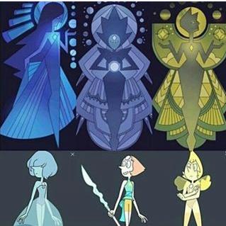 Collares con gemas, diamantes y perlas Blue Nile