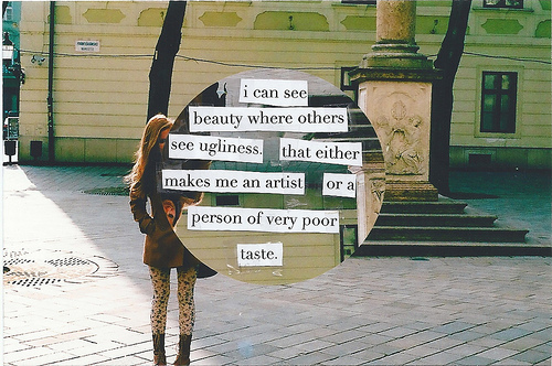 art, beauty, quote, words - inspiring picture on Favim.com