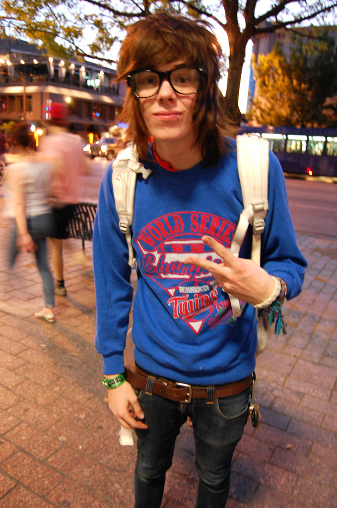 Would a report about christofer drew ingle be okay for a english report (:?