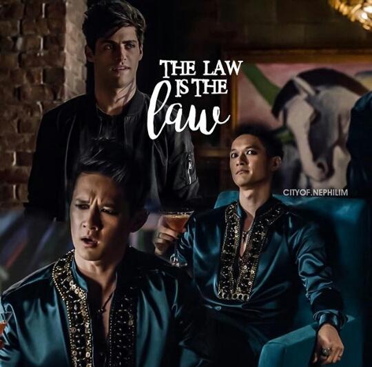 Výsledek obrázku pro the law is the law shadowhuntes