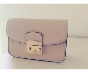 rose beige handbag