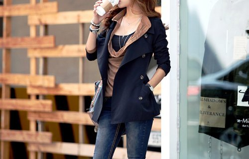 clothes, coffee, fab , fashion, girl - inspiring picture on Favim.com