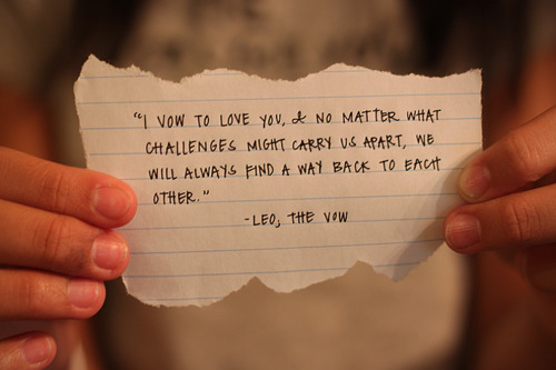 Group of quote from   The Vow   Quotes From The Vow