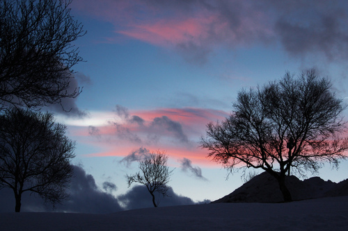 beautiful, clouds, fog, mountains, pink - inspiring picture on Favim.com