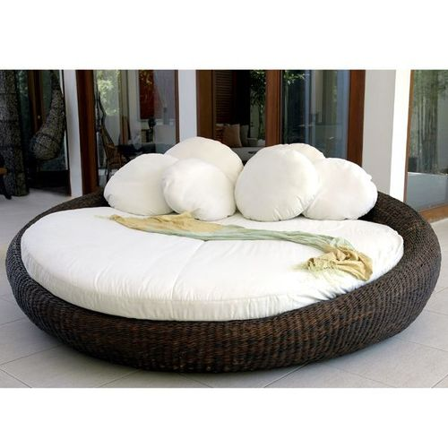 Neoteric Salome Modern Outdoor Wicker DayBed at HomeInfatuation.com. - wanelo