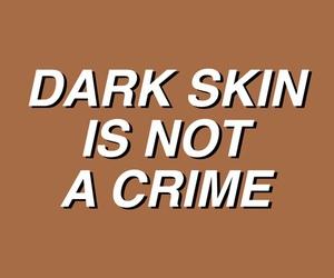 dark skin