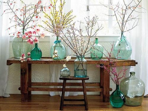 Spa decor ideas on pinterest bedroom table decorative for Spring home decor