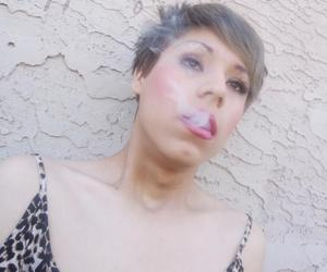 jayy smoking weed makeup